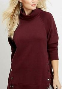 New Maurices Tunic Pullover sweatshirt XS
